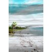 Andrew Lee 'Gold S and B Beach' by Andrew Lee Graphic Art Wrapped on Canvas