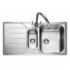 Rangemaster Sink & Taps Michigan 95cm x 50.8cm Kitchen Sink