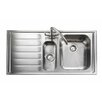 Rangemaster Sink & Taps Manhattan 101 x 51.5cm Kitchen Sink in Stainless Steel