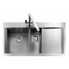 Rangemaster Sink & Taps Senator 99cm x 52.5cm Rectangular Kitchen Sink