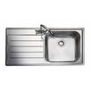 Rangemaster Sink & Taps Oakland 98.5cm x 50.8cm Rectangular Kitchen Sink