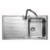 Rangemaster Sink & Taps Michigan 95cm x 50cm Kitchen Sink