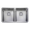Rangemaster Sink & Taps 76 cm x 45 cm Küchenspüle Quad