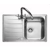 Rangemaster Sink & Taps Michigan 80cm x 50cm Kitchen Sink