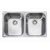 Rangemaster Sink & Taps Classic 78.7cm x 46cm Kitchen Sink