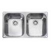 Rangemaster Sink & Taps 78,7 cm x 46 cm Küchenspüle Classic
