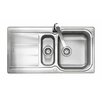 Rangemaster Sink & Taps Glendale 95cm x 50.8cm Kitchen Sink