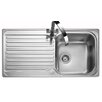 Rangemaster Sink & Taps Sedona 98.5cm x 50.8cm Kitchen Sink