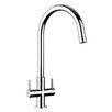 Rangemaster Sink & Taps Monorise Double Handle Kitchen Tap