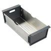 Rangemaster Sink & Taps Cubix Gemini Stainless 34.4cm Strainer