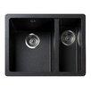 Rangemaster Sink & Taps Paragon 55cm x 43cm Igneous Undermount Bowl Kitchen Sink