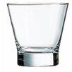 Luminarc Barcraft 10.5 Oz. Flared Double Old Fashion Glass (Set of 4)