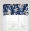 """Traditions by Waverly Forever Yours Floral 52"""" Curtain Valance"""