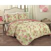 Traditions by Waverly Rolling Meadow 3 Piece Quilt Set