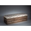 Tiffany Jayne Designs Upholstered Storage Bedroom Bench