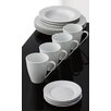 Aida Cafe 16 Piece Porcelain Dinnerware Set