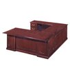 Flexsteel Contract Governor's Executive Desk with Left Return