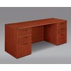 Flexsteel Contract Fairplex Kneehole Executive Desk