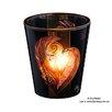 Königlich Tettau Windlicht Kunst Tettau aus Glas
