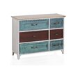 Geese Wooden 6 Drawer Chest