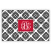 Chatsworth Marakesh Script Monogram Laminated Placemat