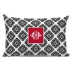 Chatsworth Marakesh Diamond Monogram Cotton Lumbar Pillow
