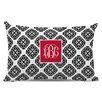 Chatsworth Marakesh Script Monogram Cotton Lumbar Pillow
