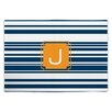 Dabney Lee Block Island Single Initial Fabric Placemat