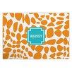 Whitney English Lizard Block Personalized Fabric Placemat