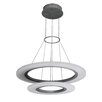 VONN Lighting Tania Duo LED Halo Chandelier