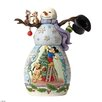 Disney Traditions Mischief and Merriment Snowman Scene Figurine