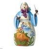 Disney Traditions Bibbidi Yule Snowman with Cinderella Scene Figurine