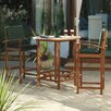 Sunny Comfort Dining Table and 4 Chairs
