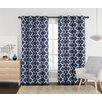 VCNY Ikat Single Curtain Panel