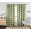 VCNY Ikat Single Curtain Panel