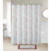 VCNY Holiday Collage 14 Piece Shower Curtain Set