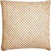 VCNY Beaded Diamond Rope Cotton Throw Pillow