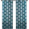 VCNY Mayra Metallic Light Filtering Curtain Panel (Set of 2)