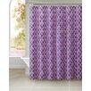 VCNY Peva Watercolor Diamond Shower Curtain