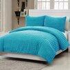 VCNY Rose Fur Comforter Set
