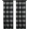 VCNY Rugby Curtain Panel (Set of 2)