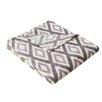 Madison Park Ikat Diamond Throw Blanket