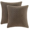 Madison Park Cotton Throw Pillow (Set of 2)
