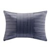 Madison Park Pleated Charmeuse Oblong Lumbar Pillow