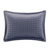 Madison Park Quilted Charmeuse Oblong Lumbar Pillow