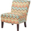 Madison Park Hayden Curved Back Slipper Chair