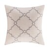 Madison Park Saratoga Fretwork Print  BlendThrow Pillow