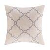 Madison Park Saratoga Fretwork Print Throw Pillow