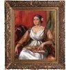 La Pastiche Tilla Durieux, 1914 by Pierre-Auguste Renoir Framed Painting Print