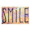 Pedrini Fussmatte LifeStyle-Mat Worn Smile